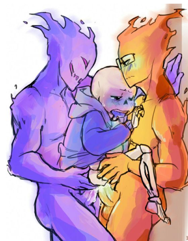 undertale underfell x papyrus sans Android 21 x android 18