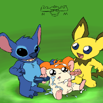 from lilo gantu and stitch The mangle five nights at freddy's