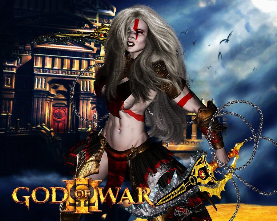 god of war Aura: maryuuin kouga saigo no tatakai