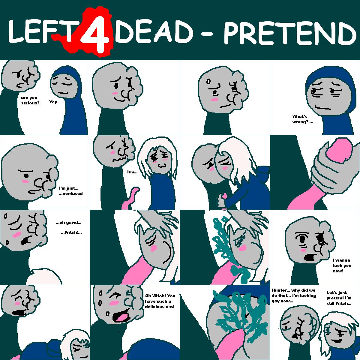 dead nick 4 left 2 Tsuujou kougeki ga zentai kougeki de ni-kai kougeki no okaasan wa suki desu ka
