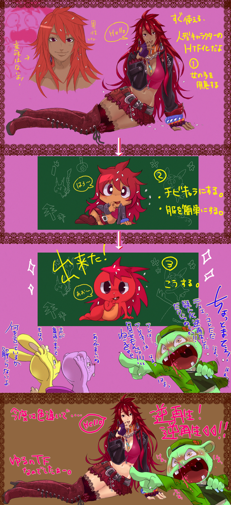 friends tree flaky happy anime Witcher 3 iris von everec