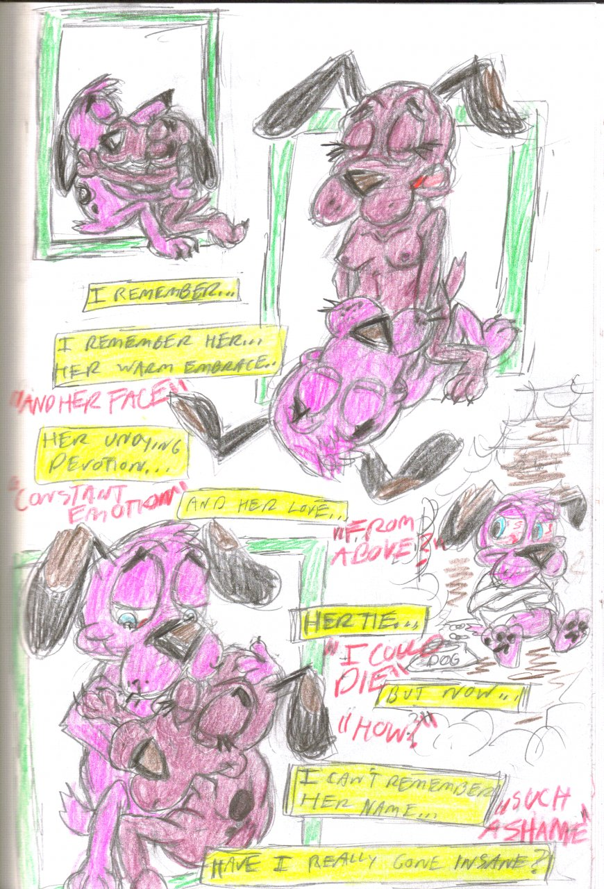 the cowardly ustes mask courage dog My little pony royal guard