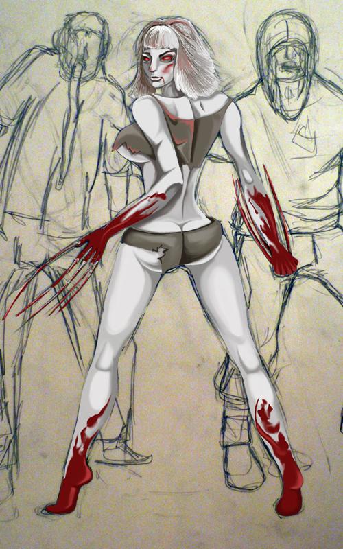 4 left dead nude 2 Arbeit shiyou!! let's arbeit!