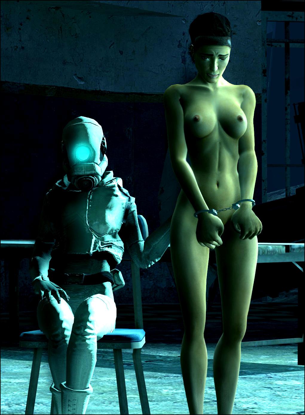 naked half 2 life alyx Fiel no game no life
