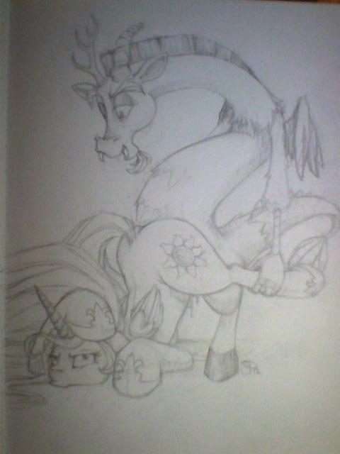 pony rose my inky little Fight n rage