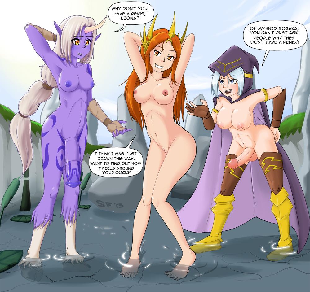 katarina of league legends nude Female xenomorph x male human