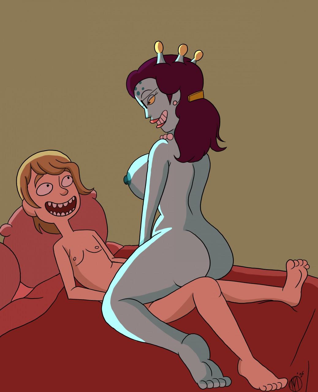 and puffy morty vagina rick Tales of xillia 2 unicorn horn