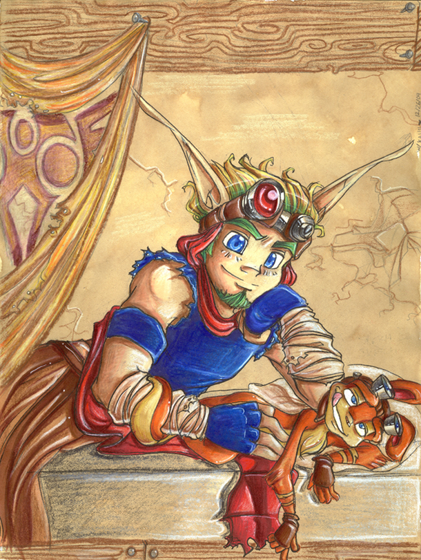 female and characters jak daxter My time at portia how to dye clothes