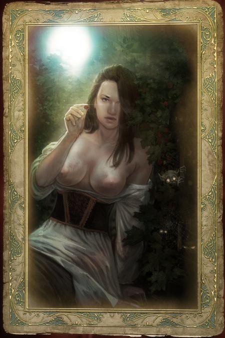 villa 3 attre var witcher Female night elf warrior animations