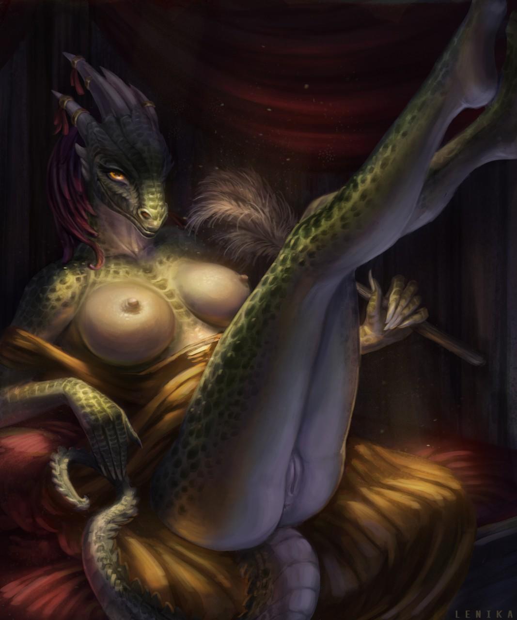 maid argonian comic porn lusty Youkoso sukebe elf no mori e