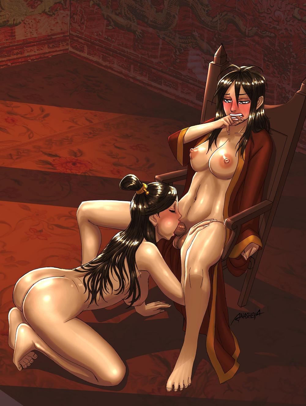 airbender the last feet avatar Miss kobayashi's dragon maid futa