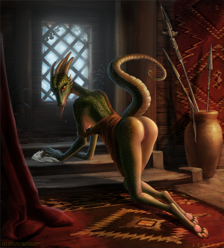 porn maid comic argonian lusty Dead or alive extreme 3 fortune