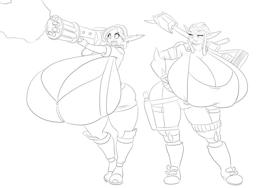 and daxter characters female jak Zombie no afureta sekai de ore dake ga osowarenai cg