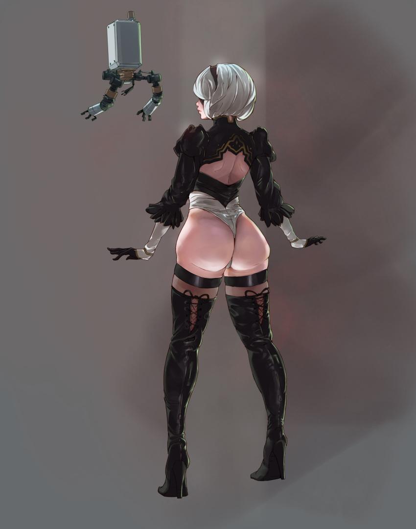 nier: automata Dark magician girl breast expansion