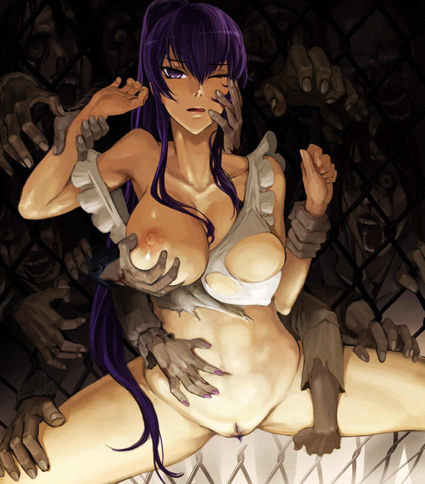 dead. highschool the of Sword art online asuna sex fanfiction