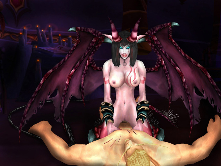 blood demon female hunter elf Do s na onee-san wa suki desuka?