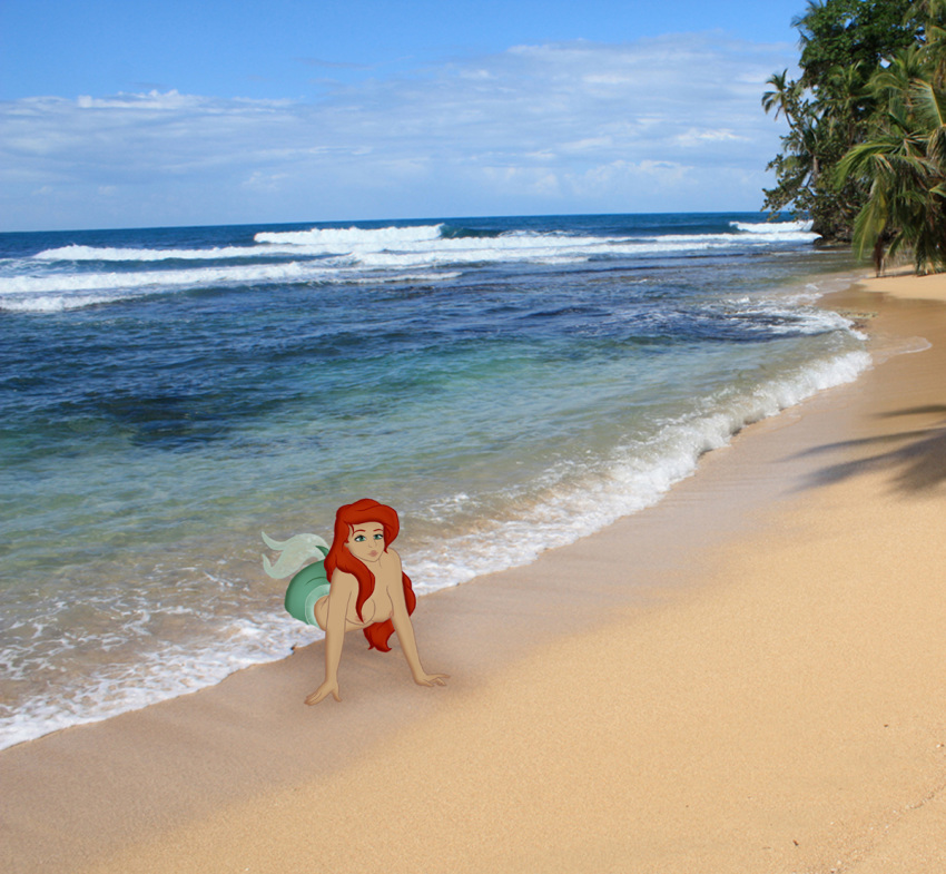 the little nude mermaid ariel Adventures of sonic the hedgehog katella
