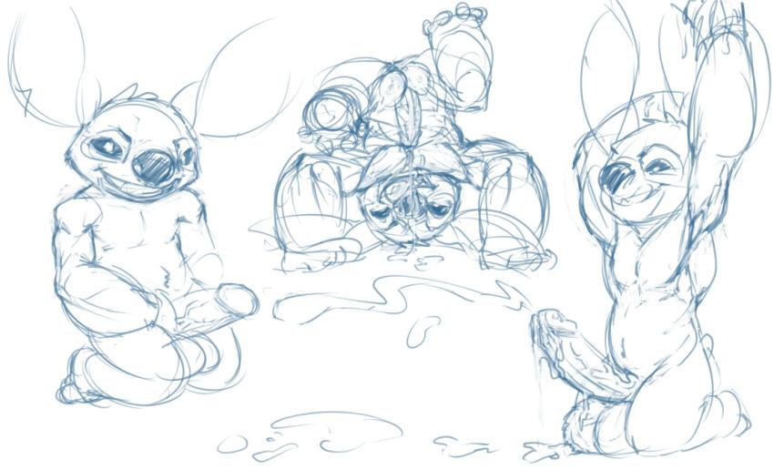 gantu from lilo stitch and Shiny growlithe pokemon let's go