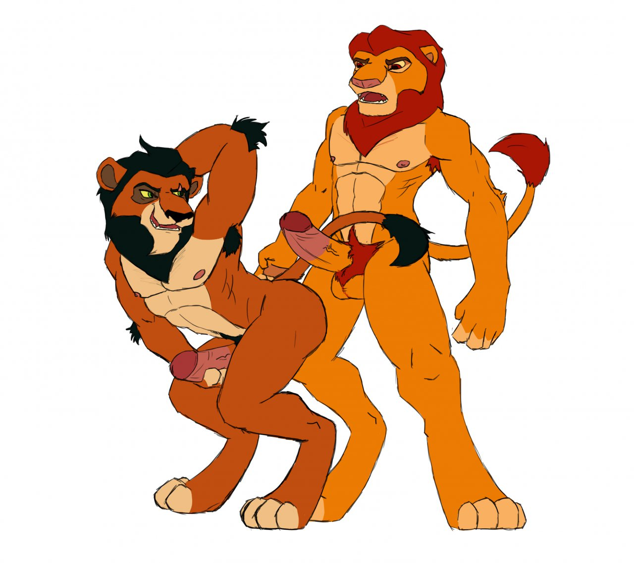 is lion who from kopa king the Harley quinn arkham city porn