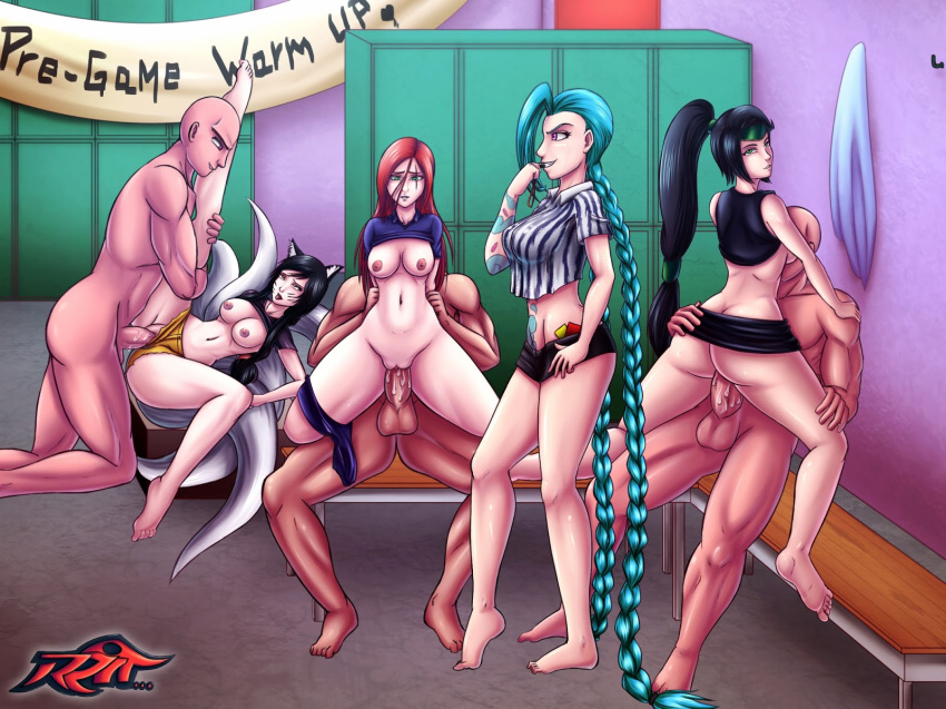 katarina league of project legends American dragon jake long oracle twins