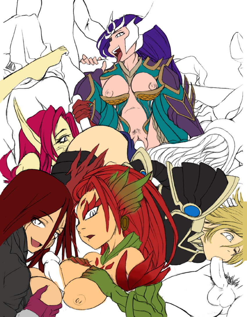 of league katarina legends project Fate/stay night nude