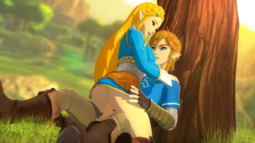 breath the naked of link wild Breath of the wild calyban